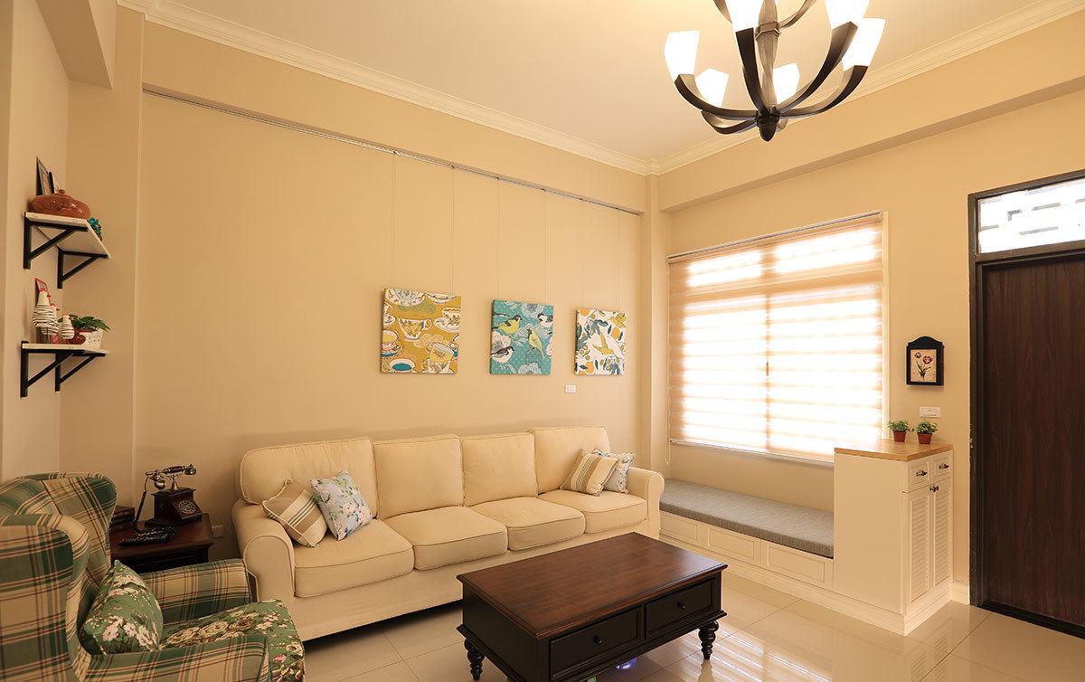 88平温馨现代简约三居美宅装潢设计