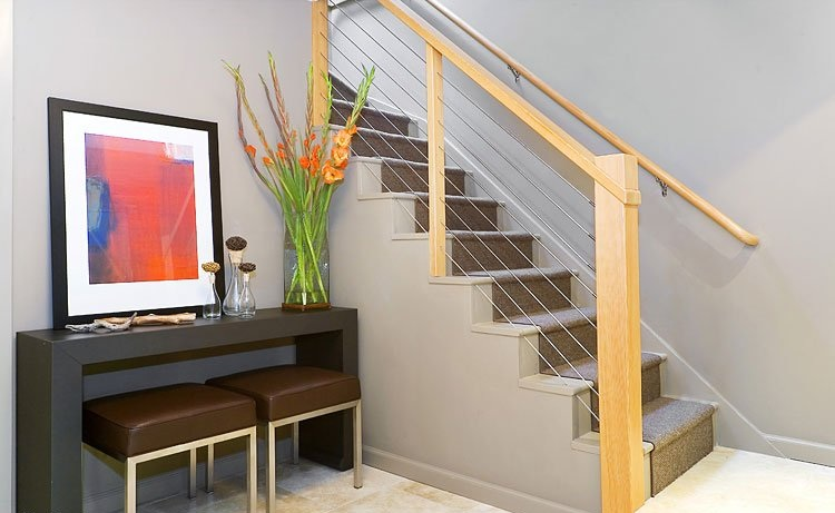 创意混搭设计复式楼梯装修
