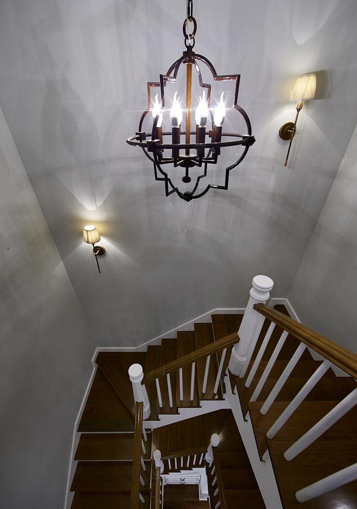 简欧现代别墅楼梯设计装修图
