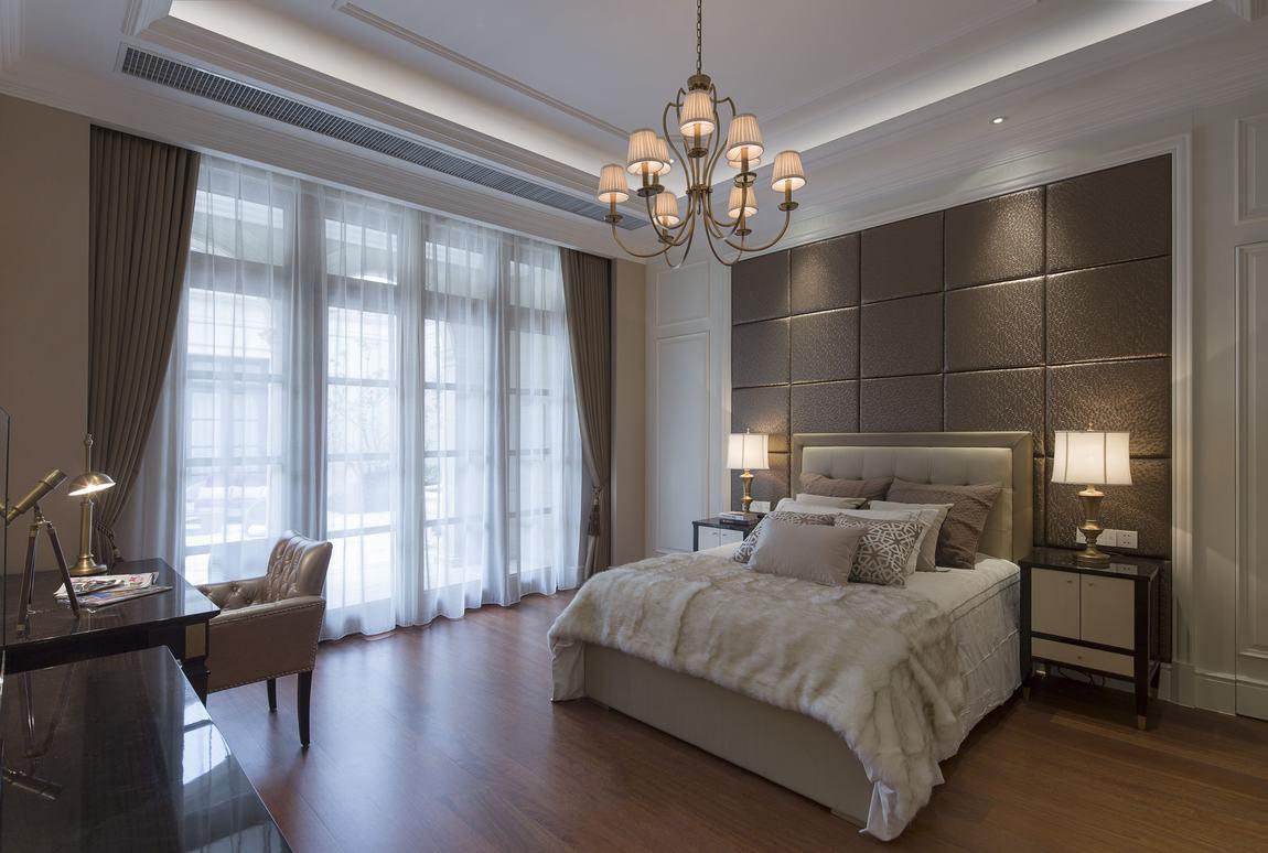 欧式风格卧室窗帘装饰图_装修百科