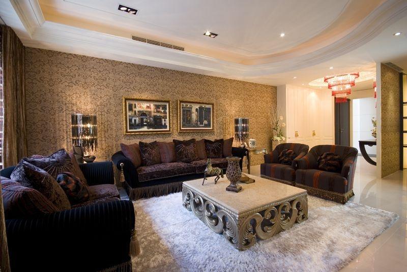 低奢新古典三室兩廳裝修圖