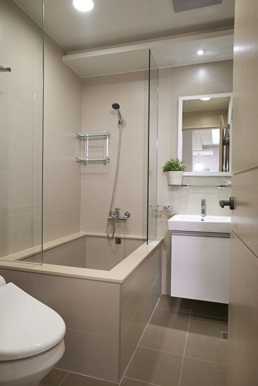 時尚簡約衛生間浴室設計