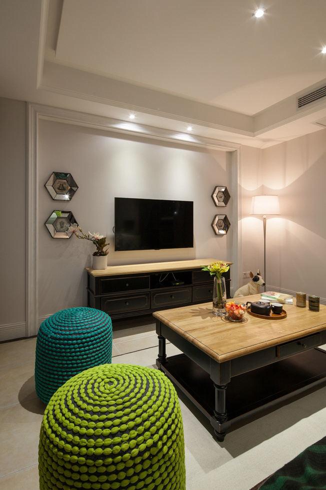 古典混搭設計一居室裝飾圖