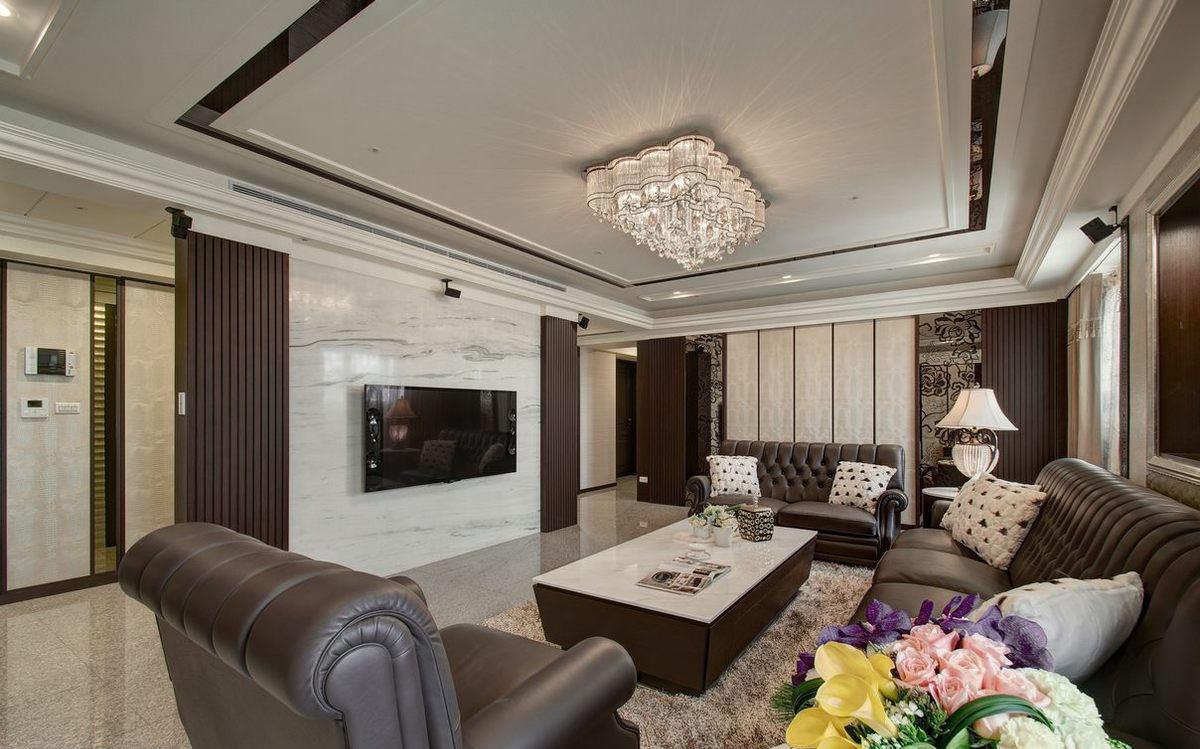 欧式设计装修别墅室内欣赏图