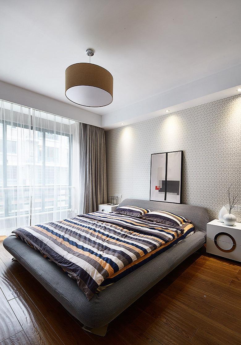 简约现代装修设计卧室效果图