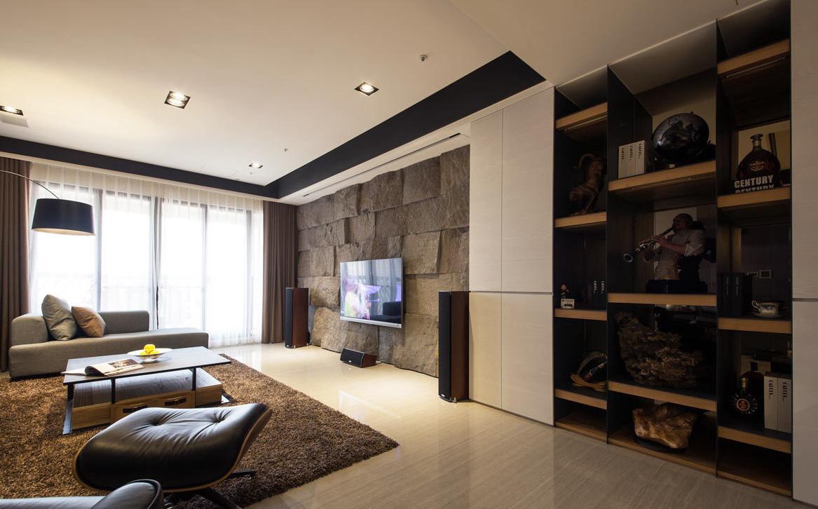 现代风格室内设计 公寓装修效果图