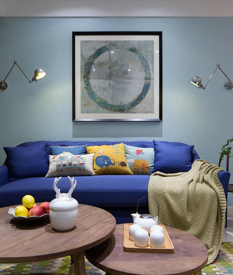 簡約現代小戶型室內效果圖