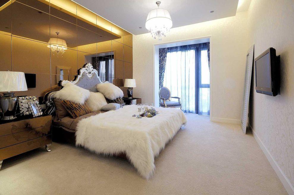 现代欧式装修风格卧室欣赏图