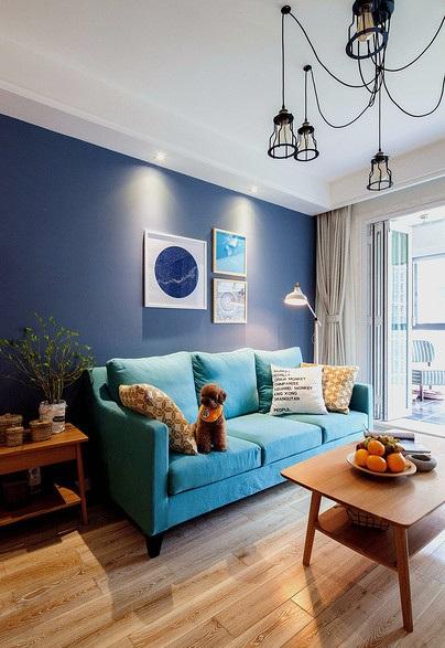 多彩宜家后現代文藝范小戶型公寓裝飾