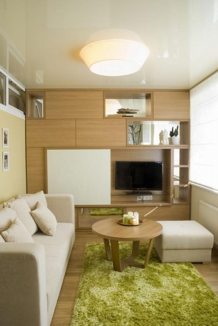 清新简约宜家小户型公寓装潢设计