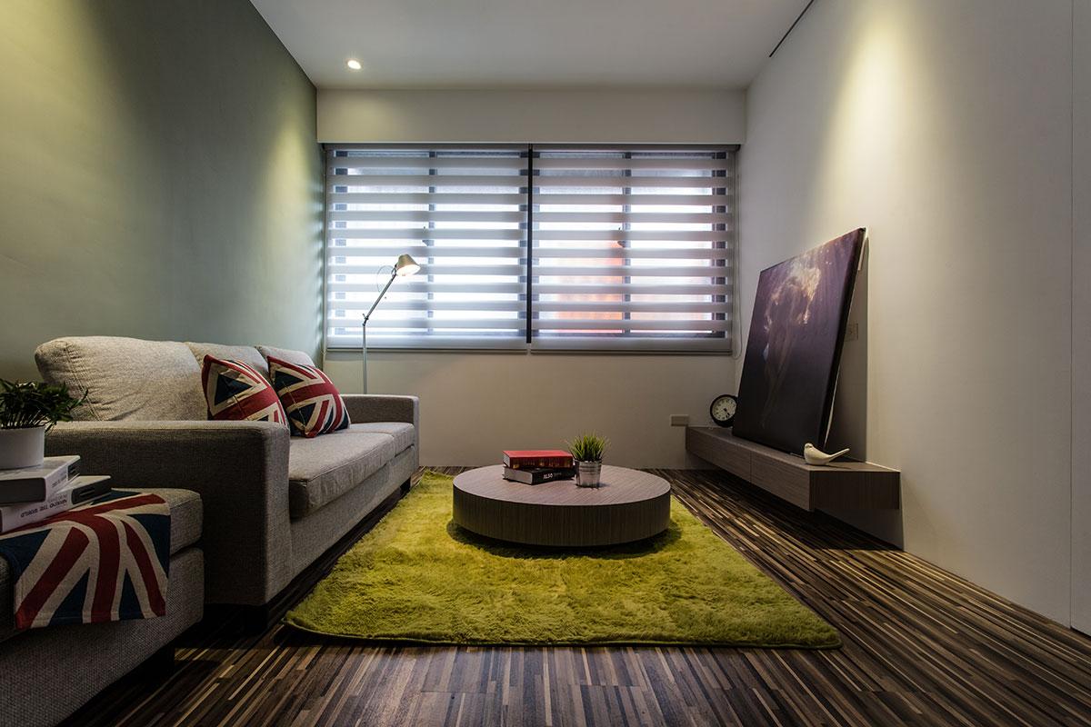 簡約小戶型客廳裝修效果圖