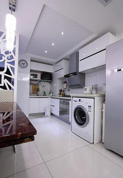 最新现代简约厨房装修设计效果图