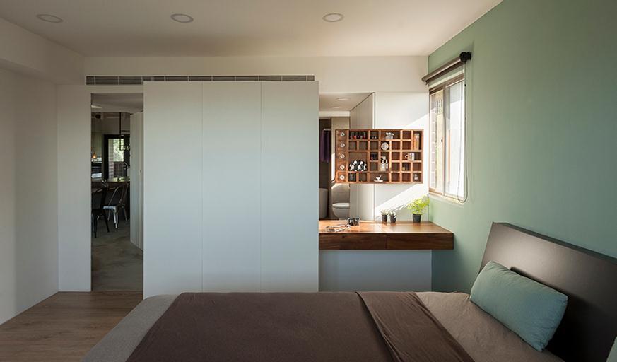 后現代風臥室隔斷裝修圖