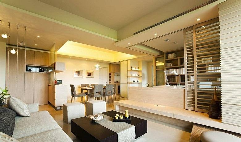 全包10万打造简约日式装修 两室两厅家装效果图