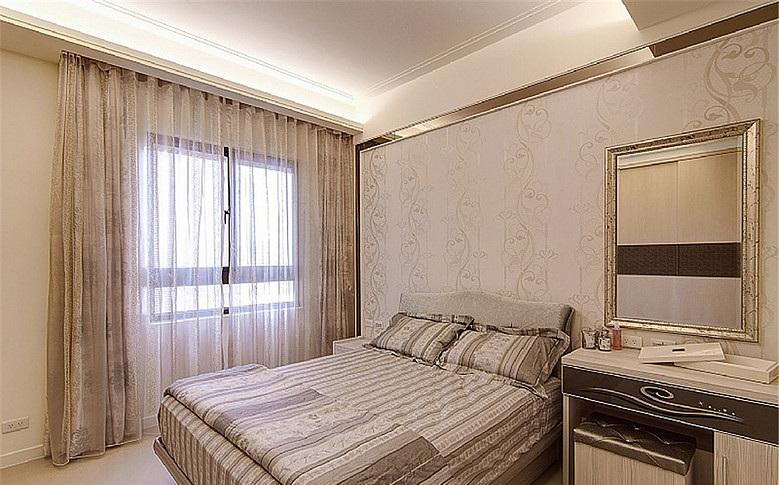 精致唯美簡歐現代臥室裝飾效果圖