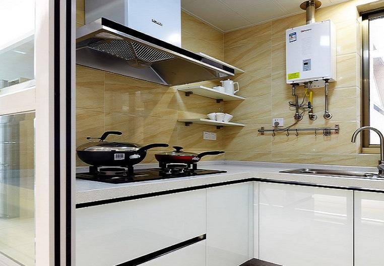最新現代小戶型廚房設計裝潢圖