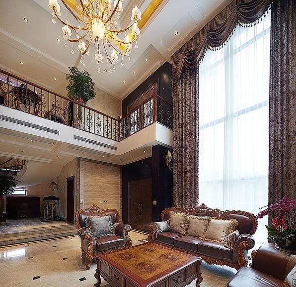 古典奢华欧式装修别墅设计装潢效果图
