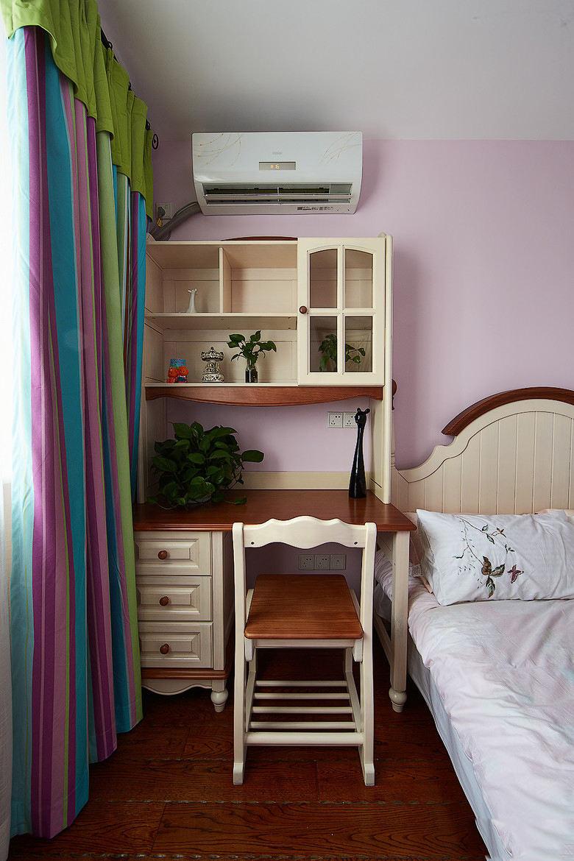 浪漫美式风格卧室收纳柜设计