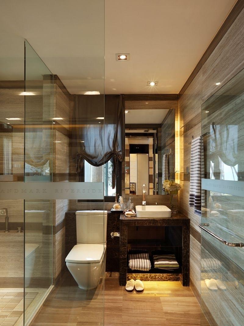時尚美式現代設計衛生間裝修效果圖