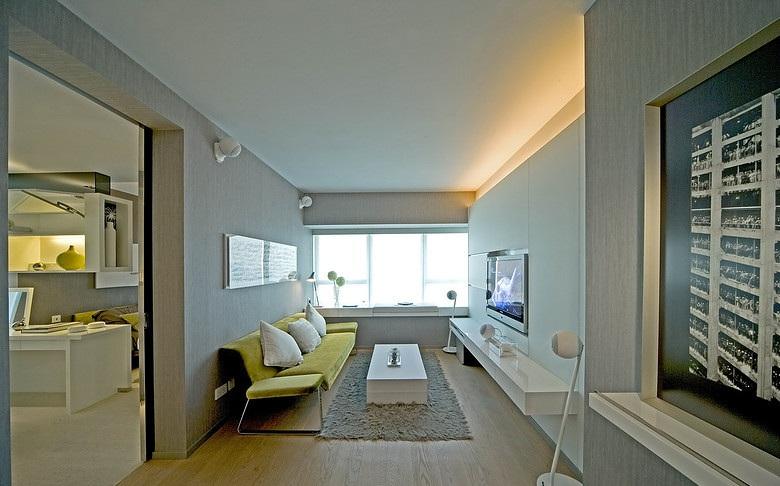 時尚簡約一居室裝修圖片