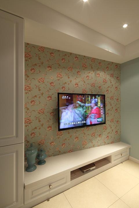現代時尚設計家居電視背景墻墻紙裝飾圖