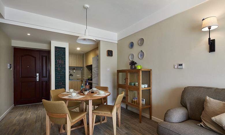 北欧风格小户型餐厅简易设计图_装修百科