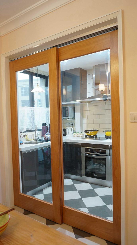 装修百科 装修效果图 装修美图 温馨简约风家居厨房推拉门隔断设计图