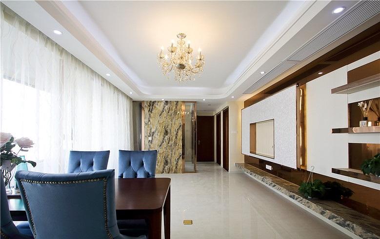 时尚现代设计二居精装房欣赏