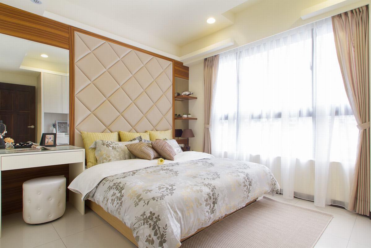清新简约现代卧室装饰效果欣赏图