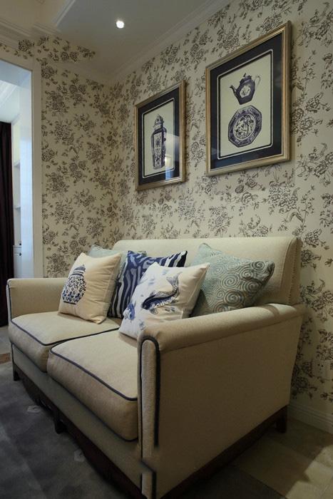 110平米三室两厅田园设计装修效果图