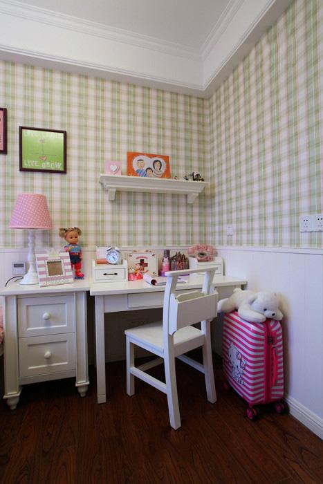 可爱田园风格儿童小书房设计装修图