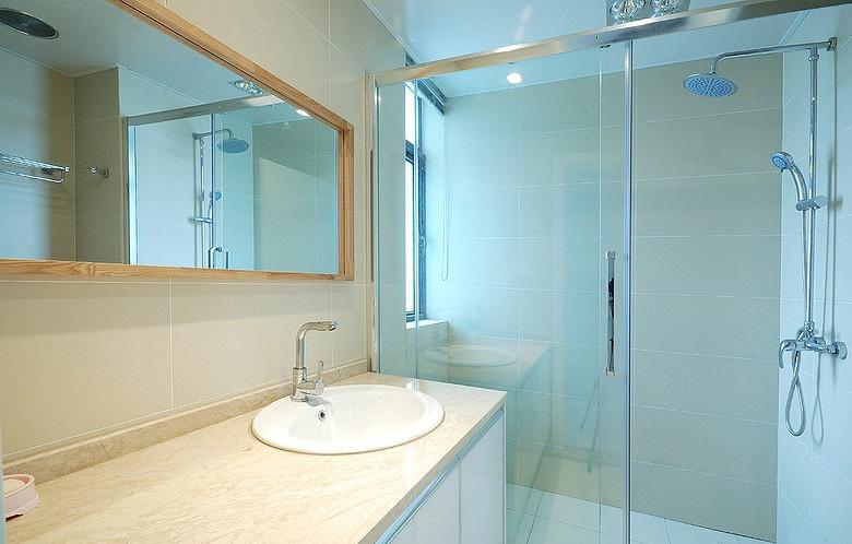 装修效果图 装修美图 清爽简约卫生间洗手台设计装修图