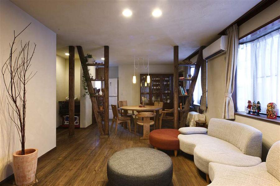 禪意和風日式二居裝潢設計美圖