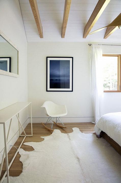 时尚简约北欧风格卧室地毯装饰效果图_装修百科