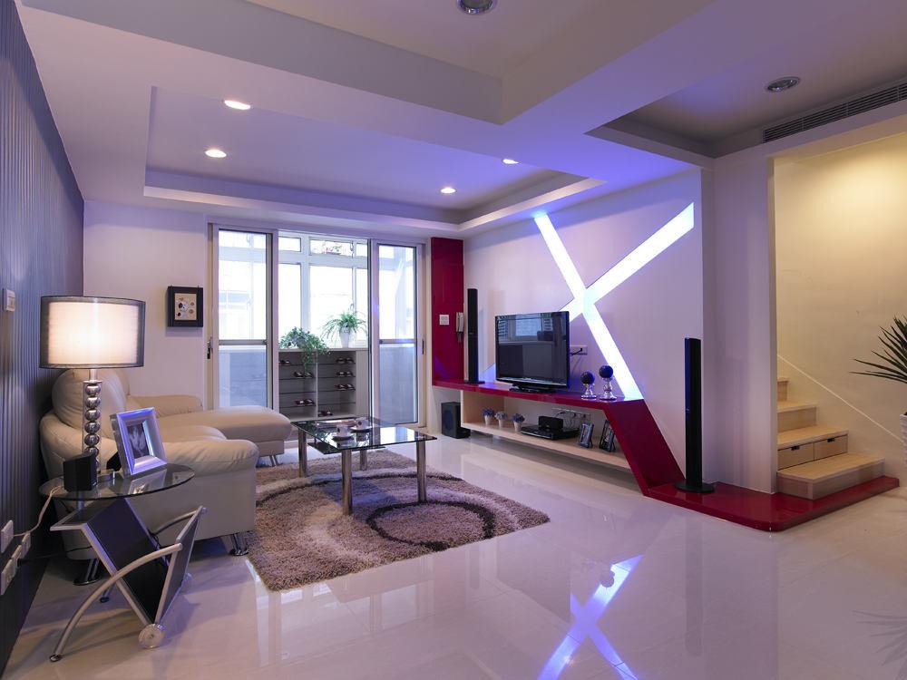 精简现代装修风格复式住宅设计图