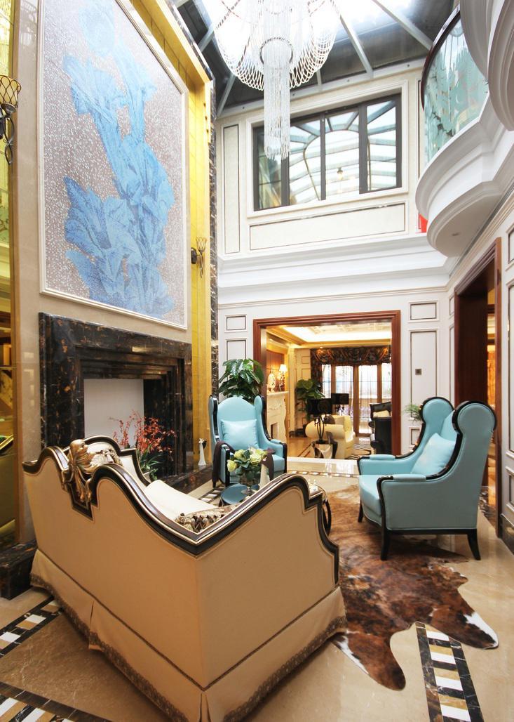 家庭大厅装修图片大全 展现豪华阵容的别墅大客厅设计