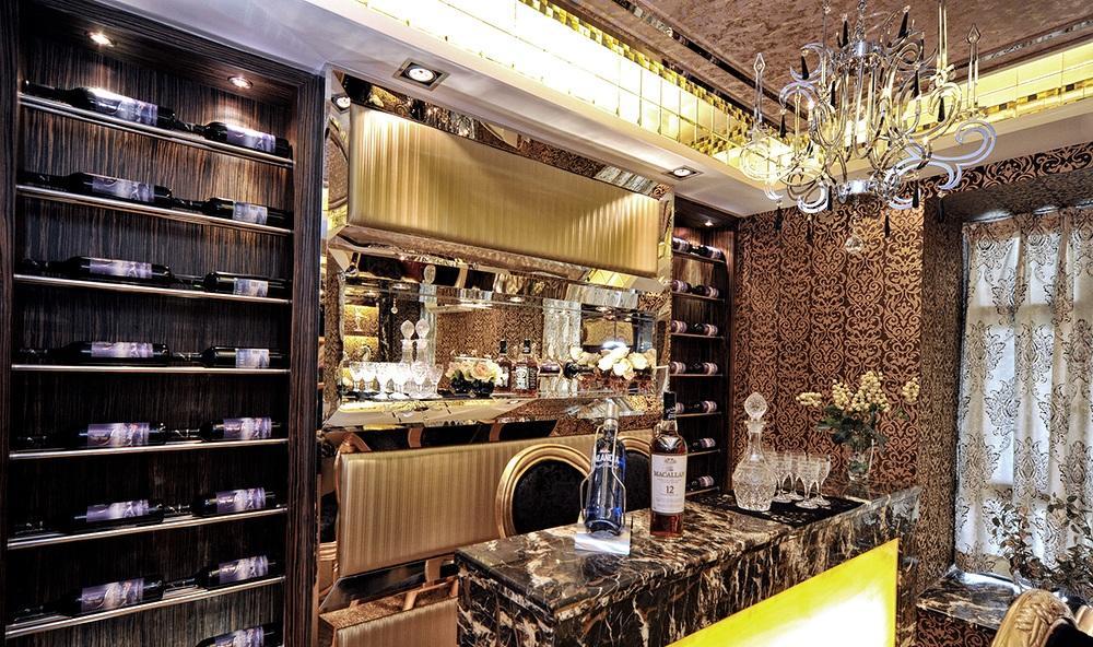 豪华摩登欧式风格家庭酒柜设计装修欣赏图_装修百科