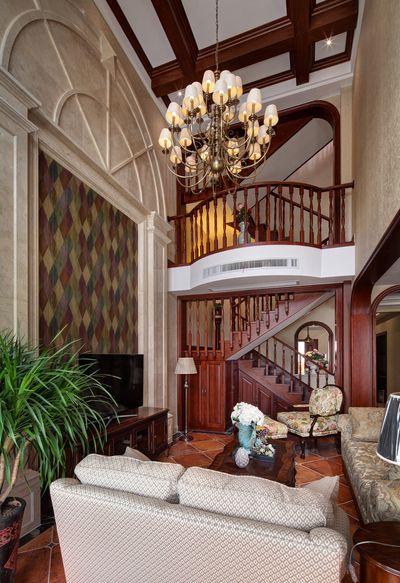 装修百科 装修效果图 装修美图 古典欧式装修风格别墅室内隔断设计