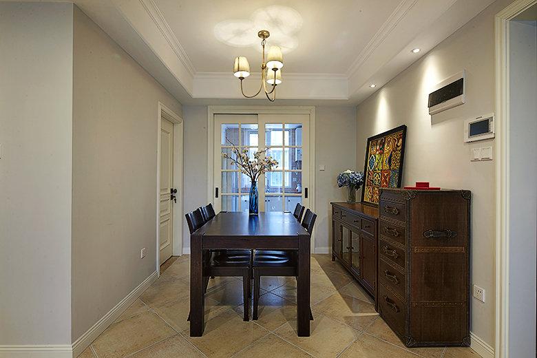 古典美式装修风格餐厅简易设计图_装修百科