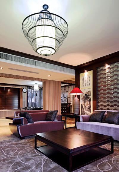 高贵成熟新中式三居装修案例