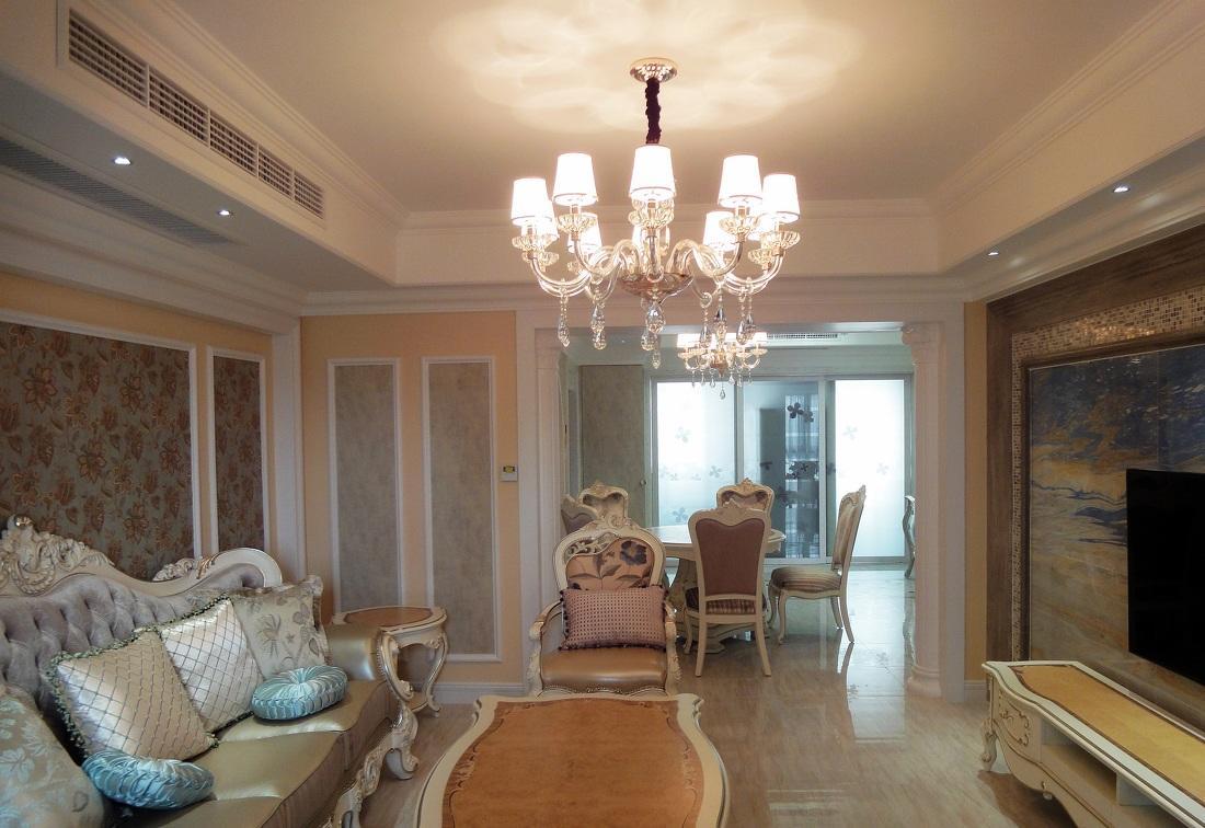 优雅别致欧式风格两室两厅装修大全