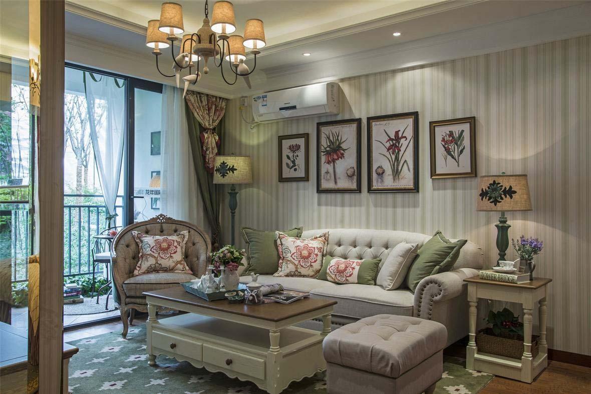文雅和諧新古典三室兩廳設計裝潢美圖