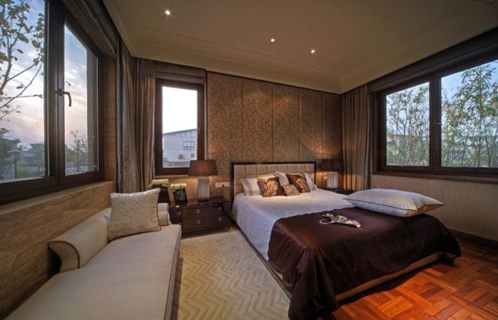 奢华时尚欧式新古典三居室内装修效果图