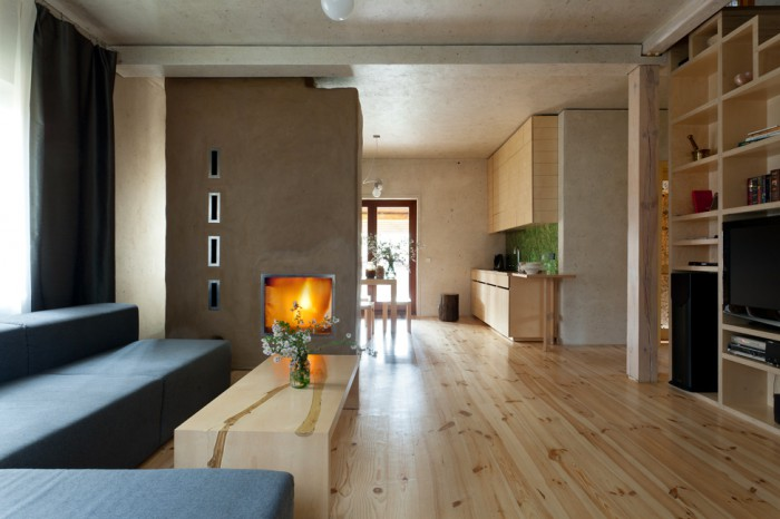 原木韵味北欧设计装修风格复式家装效果图_装修百科