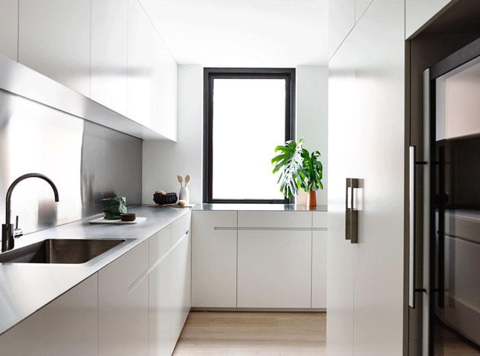 白色北欧风格厨房设计装修效果图
