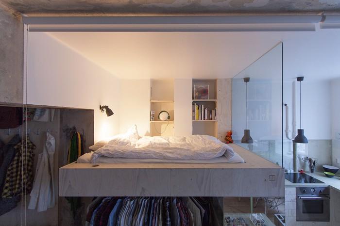 创意简约北欧风格卧室设计装修效果图