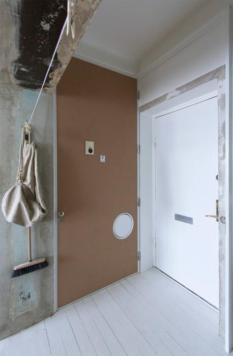 旧房改造北欧玄关设计装修效果图-旧房改造装修效果图