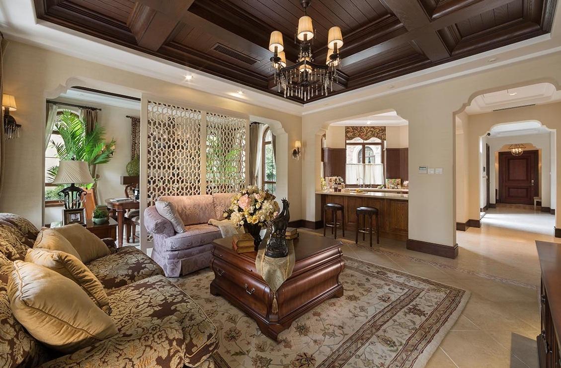 經典奢華復古實木歐式別墅案例欣賞