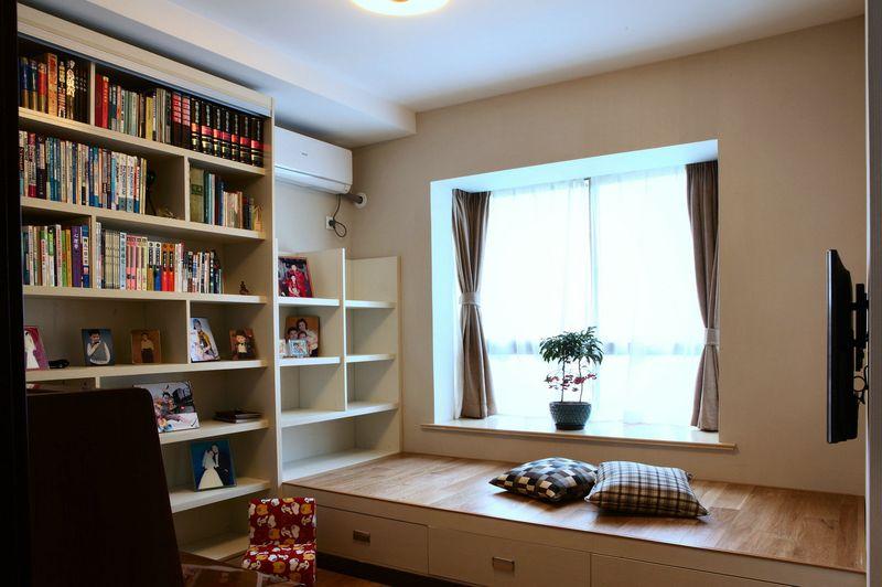 时尚现代风格设计三居室装修效果图片