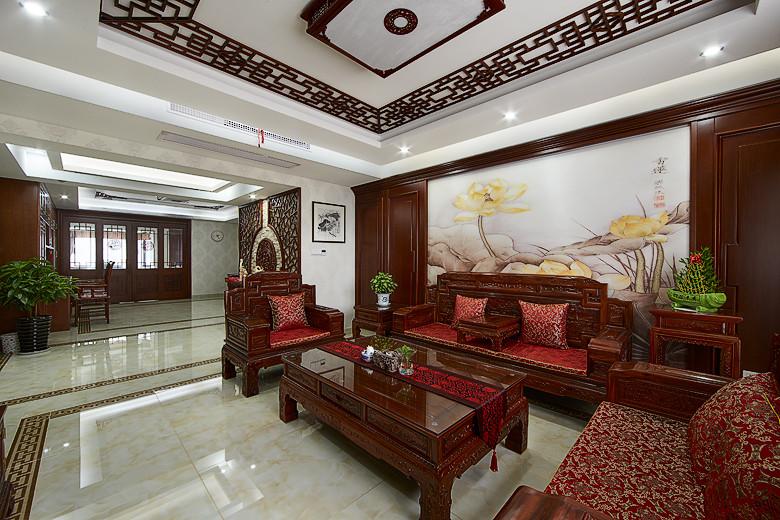 150平中式新古典三居裝修欣賞圖